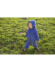FLEECE JUMPSUIT BLUE