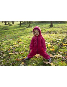 FLEECE JUMPSUIT PINK